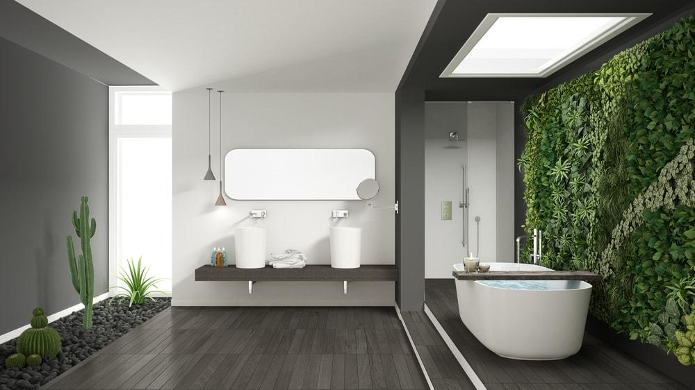 badkamer inspiratie natuur