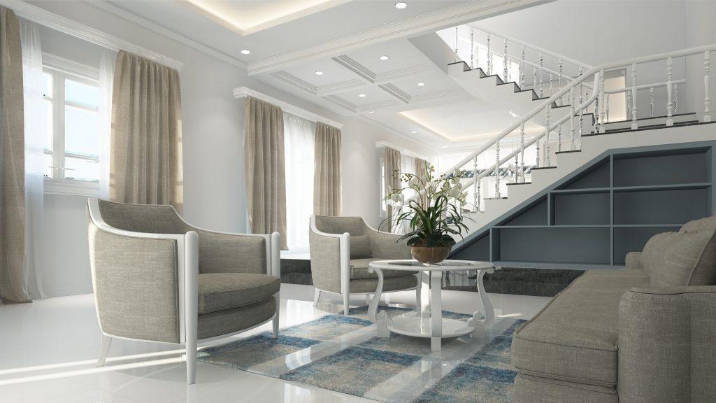 een luxe interieur is waar vrijwel iedereen van droomt heerlijk thuis komen na een lange en drukke dag en het gevoel krijgen dat je een sterrenhotel binnen