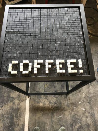 Tegels koffietafel