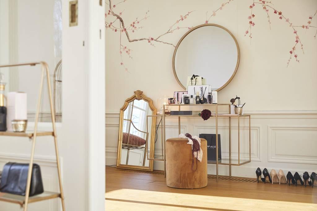 Spiegels interieur