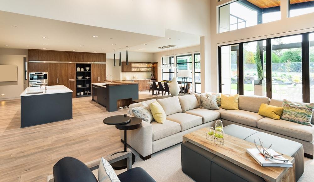 Moderne Inrichting Woonkamer : Kenmerken van een moderne woonkamer inrichting wonen & trends
