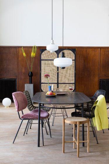 Light & Living glazen hanglamp