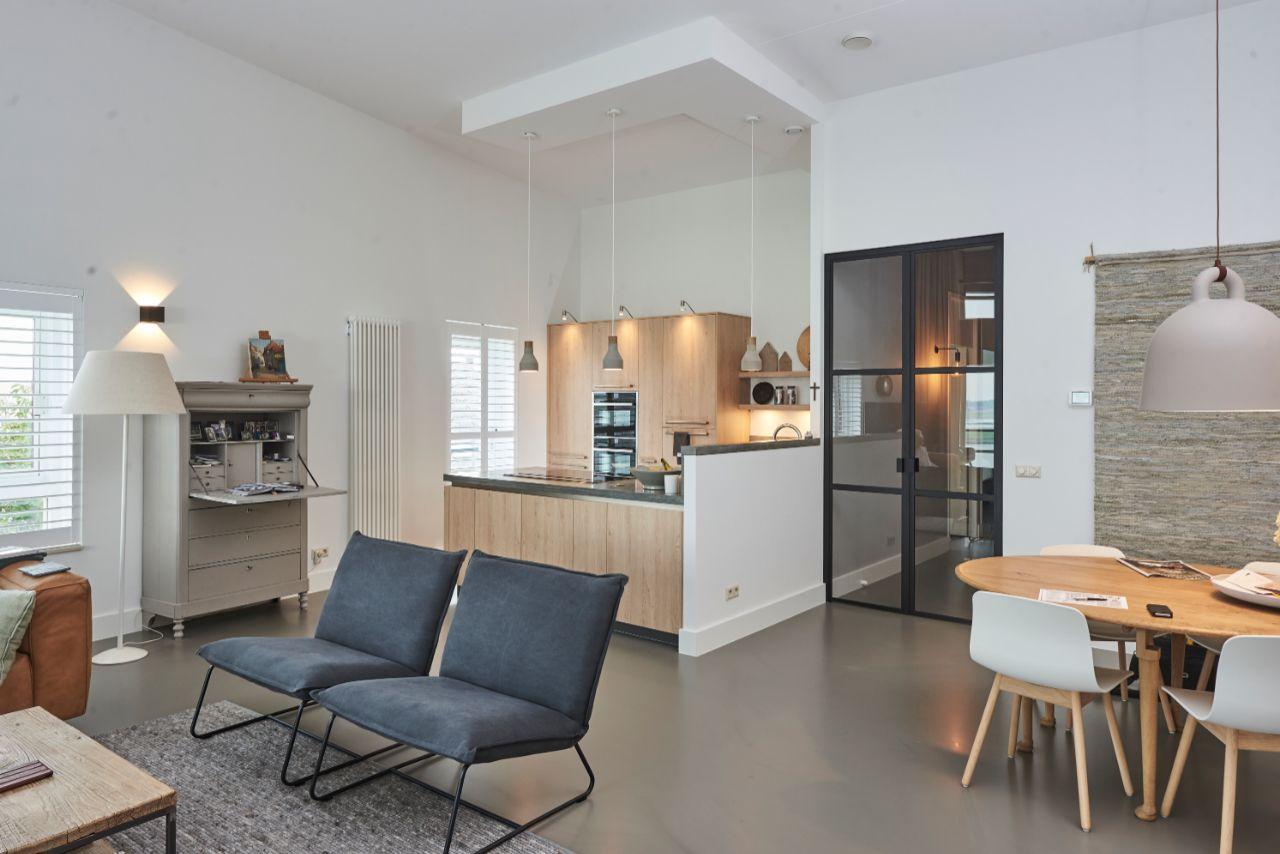 keuken beton en hout