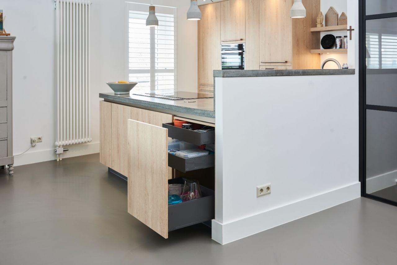 keuken met betonlook
