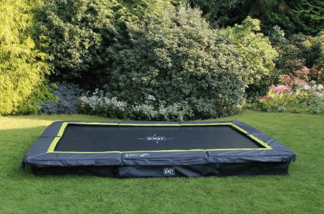 Waarom een trampoline ingraven