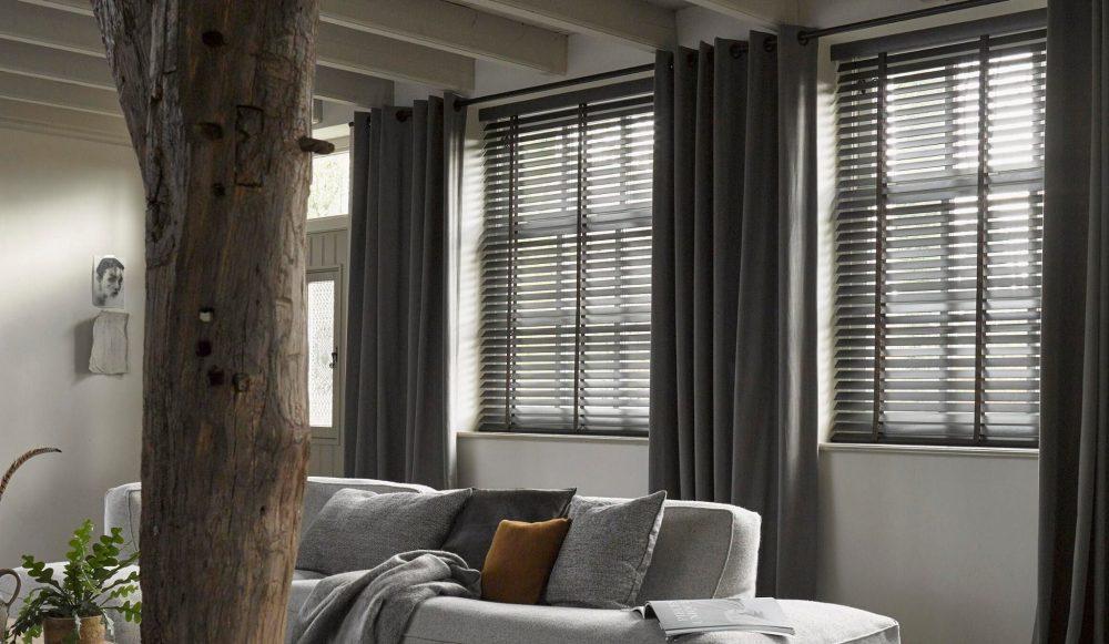 raamdecoratie woonkamer