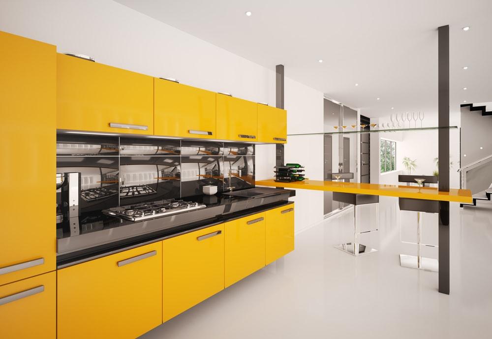 opvallende moderne keuken