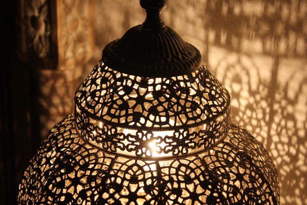 Oosterse lampen voor sfeer, stijl en afwerking
