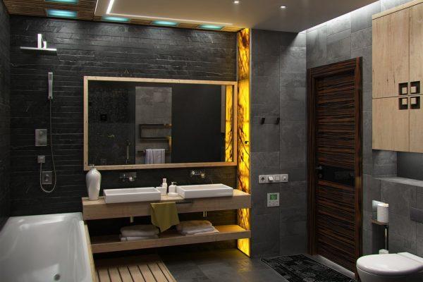 Zo maak je je badkamer af