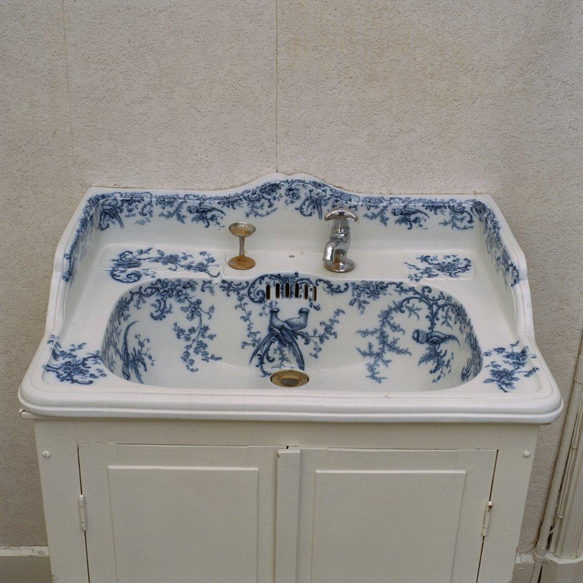 Delfts Blauw bad