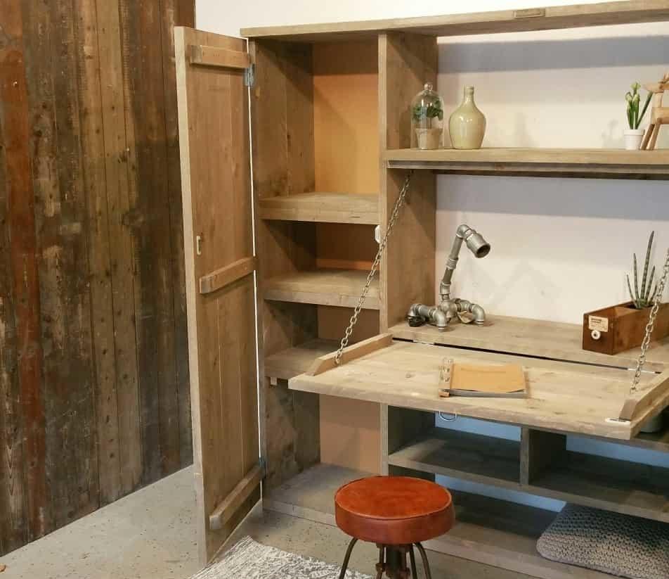 steigerhouten meubel op maat
