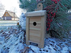 vogelhuis winter