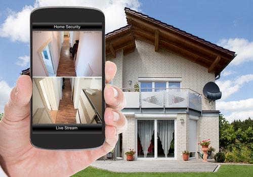 smartphone app de apparaten in huis beheren