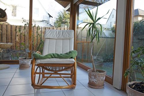 nieuwe meubels terras