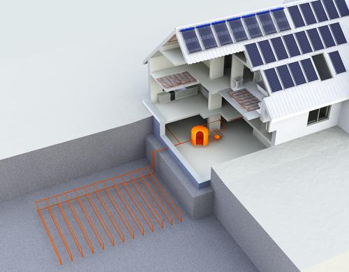 warmtepomp combineren met zonnepanelen